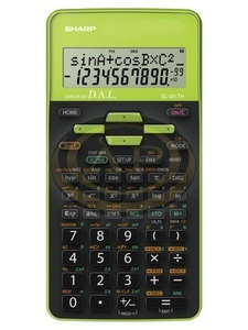 Számológép tudományos Sharp EL531THGR (zöld)