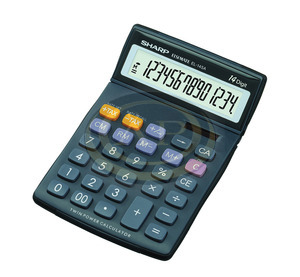 Számológép asztali SHARP EL-145TBL
