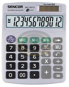 Számológép SEC 367/12 SENCOR 7977-1768