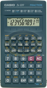 Számológép tudományos Casio FX-220