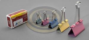 Bindercsipesz színes 25mm, 12db/dob