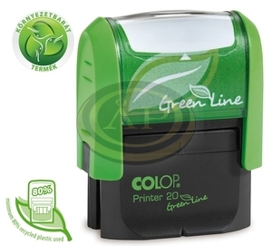 Bélyegzőház Colop Printer Plus 30 Green Line