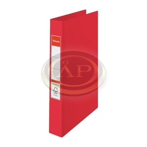 Gyűrűskönyv Esselte Standard A4 4,2 cm 2-gyűrűs VIVIDA piros 14451