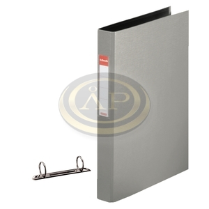 Gyűrűskönyv Esselte Standard A4 4,2 cm 2-gyűrűs szürke 14455