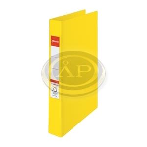 Gyűrűskönyv Esselte Standard A4 3,5cm 4-gyűrűs VIVIDA sárga 14458