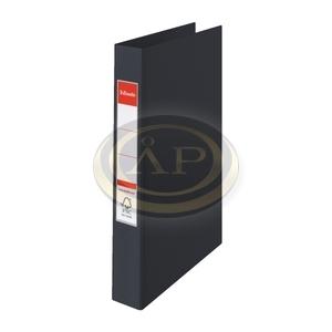 Gyűrűskönyv Esselte Standard A4 3,5cm 4-gyűrűs VIVIDA fekete 14462