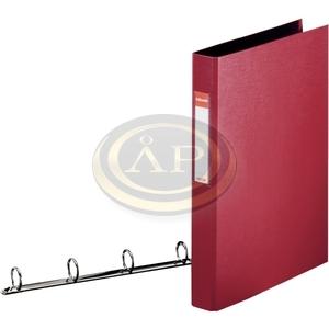 Gyűrűskönyv Esselte Standard A4 3,5cm 4-gyűrűs bordó 14464