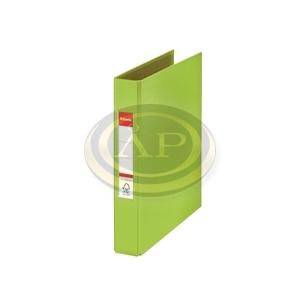 Gyűrűskönyv Esselte Standard A5 3,5cm 2-gyűrűs VIVIDA zöld 47686