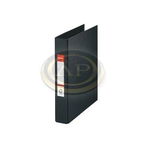 Gyűrűskönyv Esselte Standard A5 3,5cm 2-gyűrűs VIVIDA fekete 47687