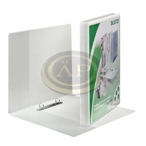Gyűrűskönyv Leitz panorámás A4 Maxi 2gy fehér 30mm gerinc 42770001