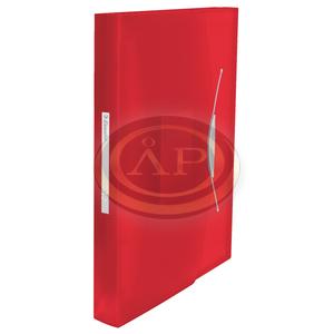 VIVIDA harmonika irattartó, PP, piros 624016