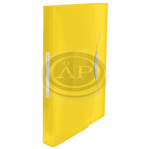 VIVIDA harmonika irattartó, PP, sárga 624020