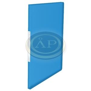 Iratvédő mappa Esselte 20 tasakos puha borító VIVIDA kék 623990