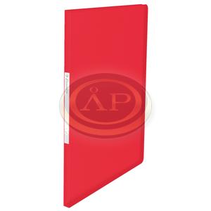 VIVIDA Iratvédő mappa, puha borító, 20 tasak, piros 623991
