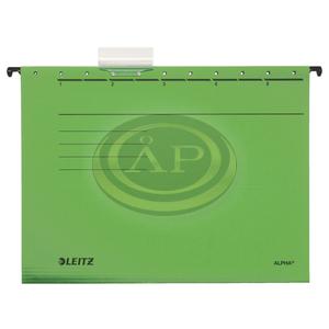 Függőmappa Leitz ALPHA STANDARD zöld 19850055