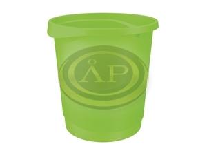 Papírkosár Esselte Europost 14 literes, VIVIDA zöld 623950