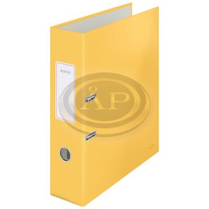 Leitz Cosy Soft touch karton 180° iratrendező, széles, meleg sárga