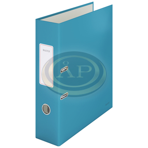 Leitz Cosy Soft touch karton 180° iratrendező, széles, nyugodt kék