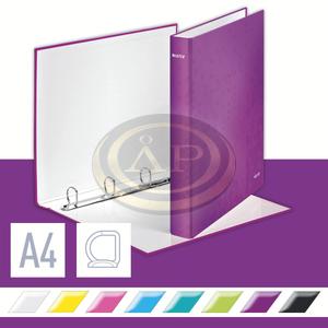 WOW lakkfényű gyűrűskönyv, 4 gyűrű, lila 42420062