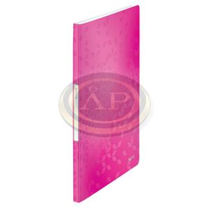 WOW iratvédő mappa, 20 tasakos, rózsaszín 46310023