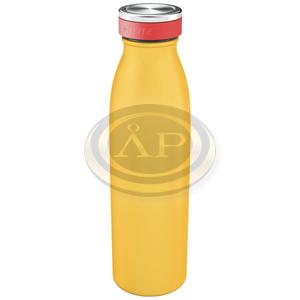 Leitz Cosy vizes palack, meleg sárga