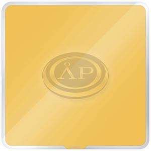 Leitz Cosy mágneses üvegtábla 45 x 45 cm, meleg sárga