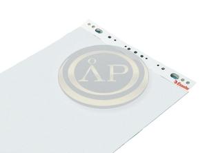Flipchart papír 65x100cm sima/kockás fehér Esselte 96553