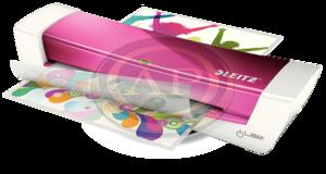 Laminálógép Leitz iLAM Home A4 rózsaszín 73680023