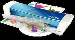 Laminálógép Leitz iLAM Home A4 kék 73680036