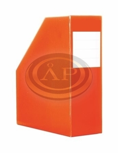 Iratpapucs narancs, fix karton, 1400gr. gerinc 9cm
