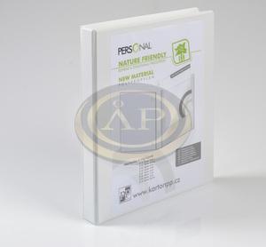 Panorámás Gyűrűskönyv A4 4gyűrűs 4cm gerinc, D25mm gyűrű  P+P
