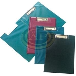 Felírótábla PVC A4 fedeles csíptetős kék