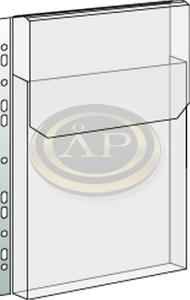 Lefűzhető JUMBO klapnis genotherm, A4 25mm gerinc 180mic