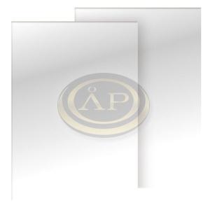 Spirál hátlap CHROMOLUX fényes fehér A4 215-230-250g