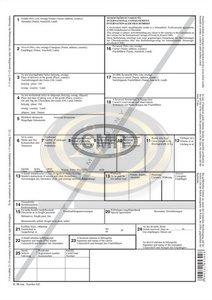 Nemzetközi fuvarlevél CMR A4 6pld.