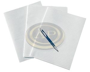 Rovatolt papír A3 franciakockás