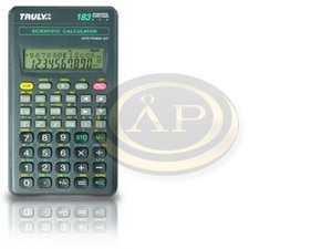 Truly SC118B tudományos számológép, 153 funkció