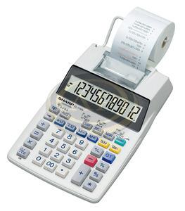 Számológép asztali szalagos Sharp EL1750V
