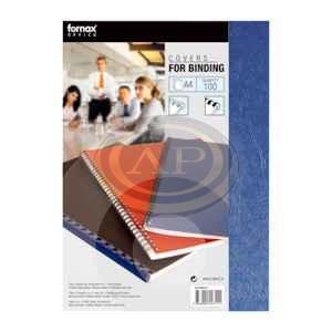 Hátlap Fornax A4 matt kék, 250g