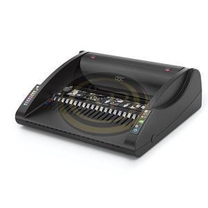 GBC C200E elektromos spirálozógép, műanyag spirálkötéshez