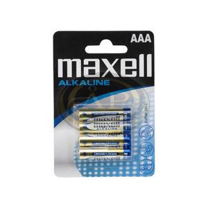 MAxell AAA mikro alkáli elem, 1,5V 4db/cs