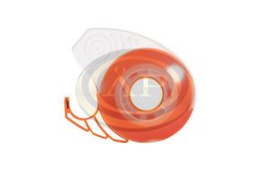 Celluxtépő ICO Smart ragasztószalaggal, zárható, narancs