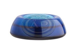 Szivacstál ICO LUX átlátszó kék