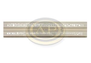 Sablon 748037 7 mm