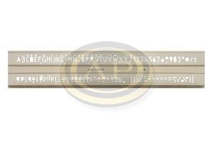 Sablon 748039 10 mm