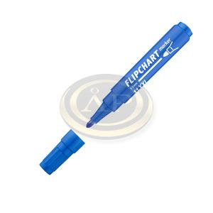 ICO flipchart marker 11 XXL kék, kerek csúcsos