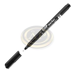 Filctoll F alkoholos 0,5mm fekete ICO OHP Top Marker