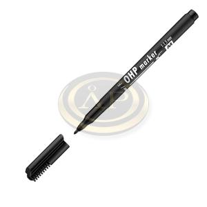 Filctoll M alkoholos 1-1,5mm fekete ICO OHP Top Marker