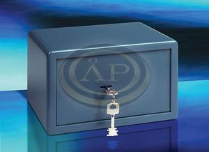 Széf point kulcsos 180x280x200 8,5kg BURGWACHTER P1S