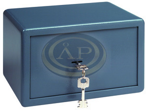 Széf point kulcsos 255x350x300 16,5kg BURGWACHTER P2S